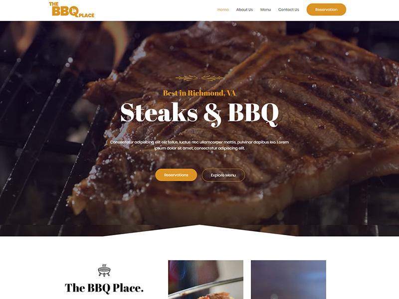 BBQ Restaurant – 食品茶饮模板WordPress主题
