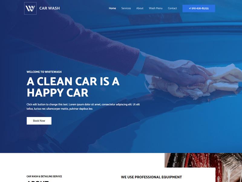 Car Wash – 汽车行业模板WordPress主题