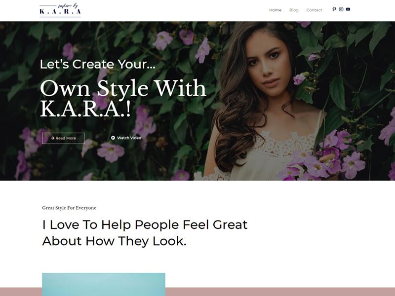 Fashion Lifestyle Blog – 自媒体模板WordPress主题
