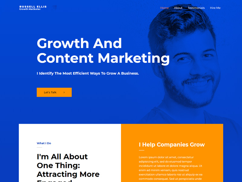 Growth Marketer – 互联网模板WordPress主题