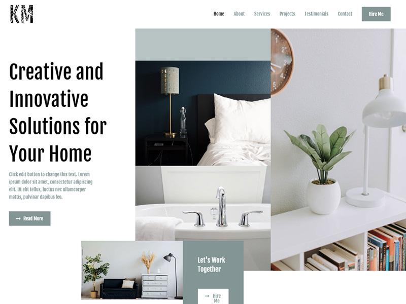 Interior Designer – 室内设计模板WordPress主题