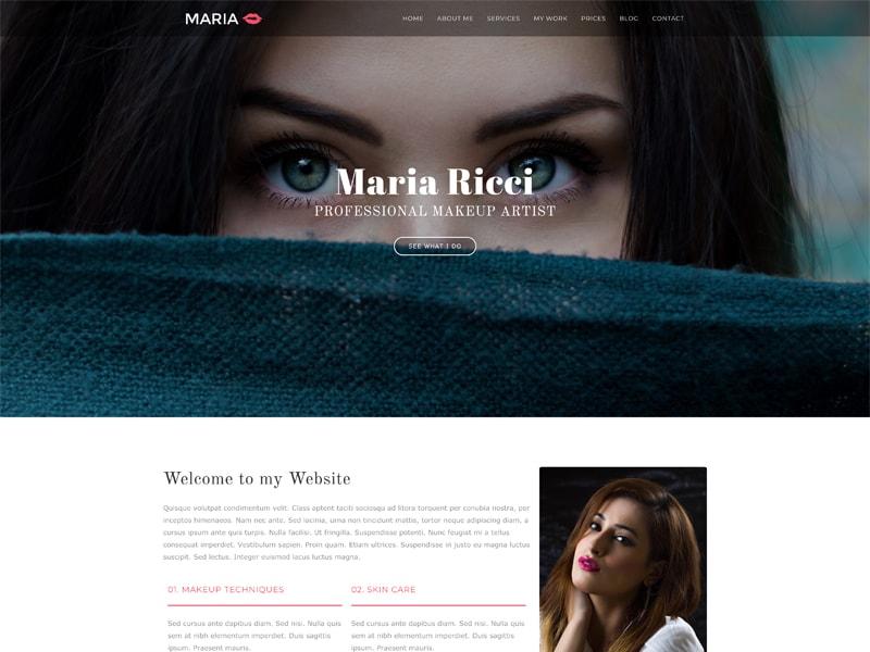 Makeup – 化妆美容模板WordPress主题