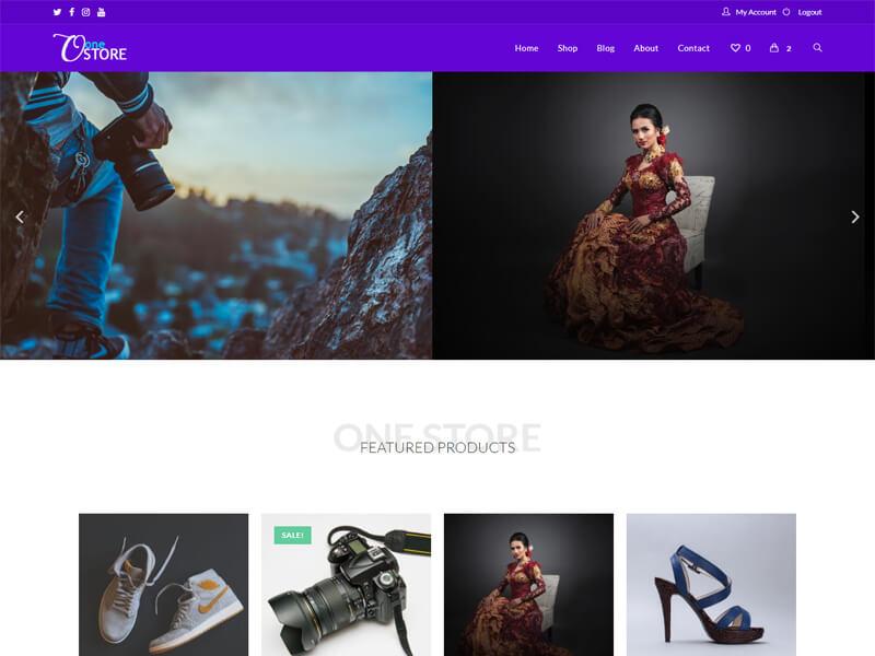 Onestore – 服装行业模板WordPress主题