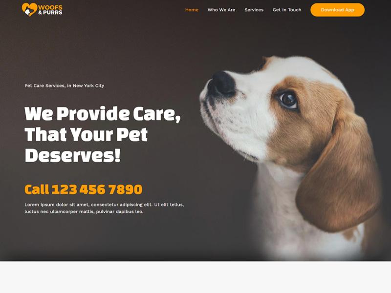 Pet Services – 宠物行业模板WordPress主题