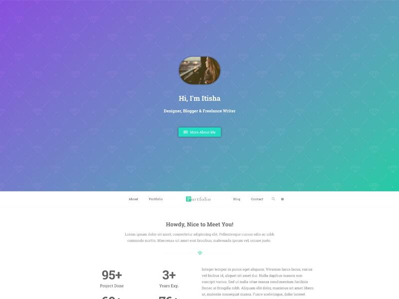 Portfolio – 自媒体模板WordPress主题