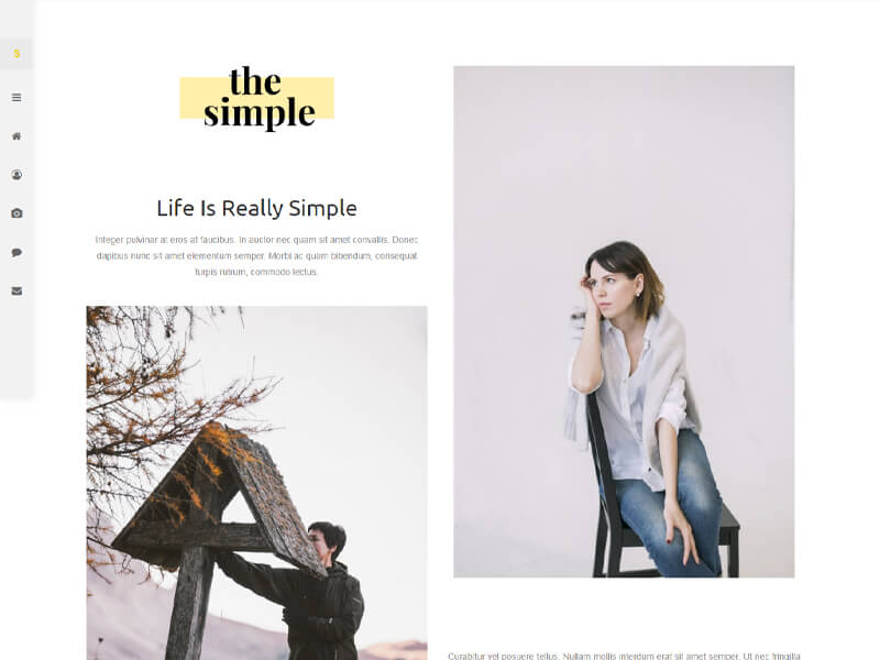Simply – 自媒体模板WordPress主题