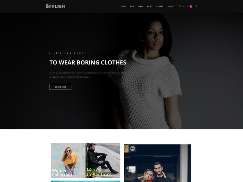 Style – 服装行业模板WordPress主题