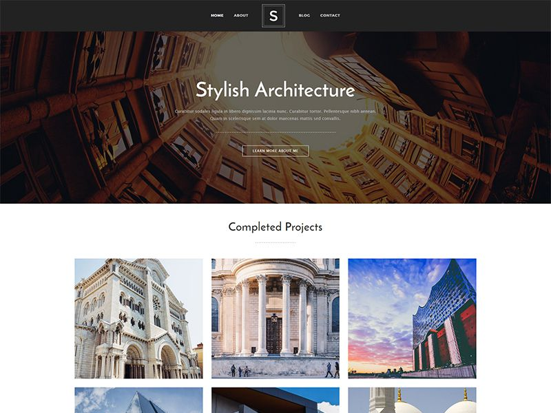 Stylish – 家具建材模板WordPress主题